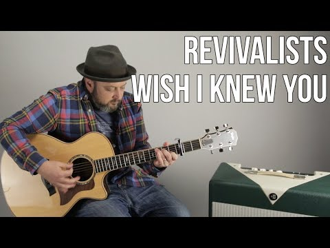 The Revivalists - Wish I Knew You - How to Play on Guitar - Easy Acoustic