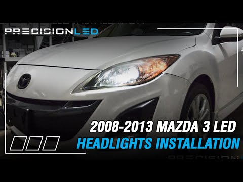 Mazda 3 LED Headlights How To Install – 2nd Gen 2008-2013