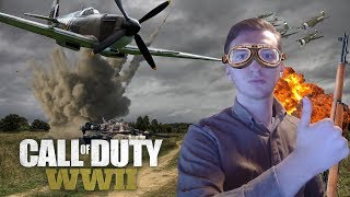4 Fighter Planes Causes Rage Quits - Call of Duty WW2