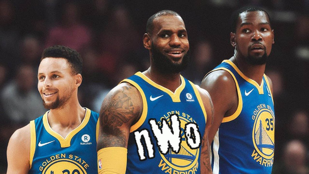 db362dd9e18d LeBron James Joining the Warriors is Now a SERIOUS Possibility - YouTube