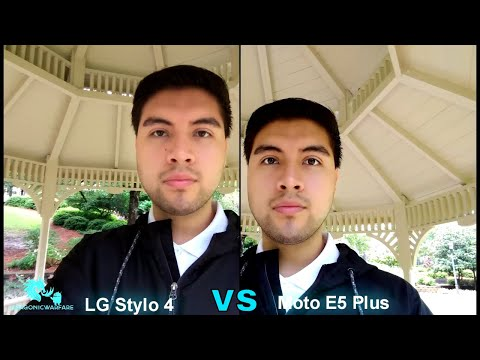 Motorola Moto E5 Plus Vs LG Stylo 4 Side By Side Camera Test (Which is King?) HD