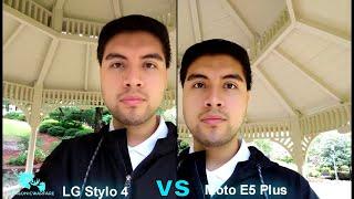 Motorola Moto E5 Plus Vs LG Stylo 4 Side By Side Camera Test (Which is King?) HD