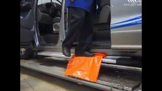 Тест порогов Can Otomotiv на Hyundai H1