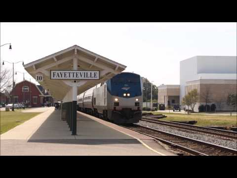 [4 Railroads At Work] NS, Amtrak, CSX, and Aberdeen & Rockfish with K5LA's+K5H+and RS5T