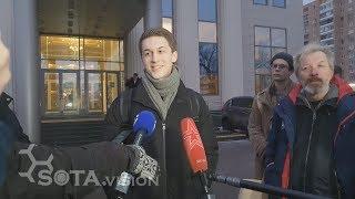 Мосгорсуд вернул Егору Жукову статуэтку лягушек но приговор без изменений