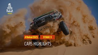 #DAKAR2021 - Stage 3 - Wadi Ad-Dawasir / Wadi Ad-Dawasir - Car Highlights