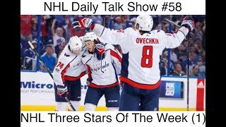 NHL Daily Talk Show #58 NHL Three Stars Of The Week (1)