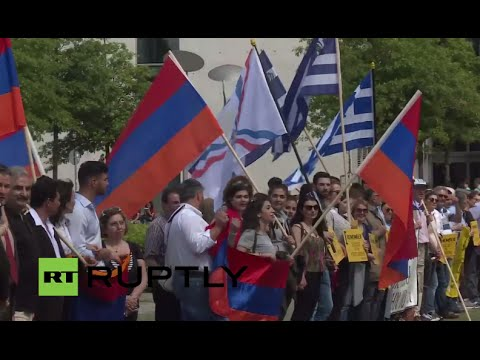 LIVE: Armenians hold rally as German parliament votes on 'Armenian genocide' bill