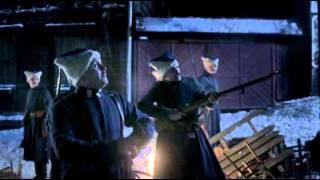 "Сериал ""Белая Гвардия"" (2012). Сцена ""Петлюровцы и фонари""."