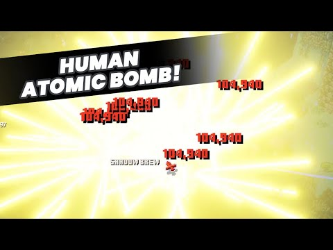 TOP BUILD! Human Atomic Bomb | Best Minecraft Dungeons Builds