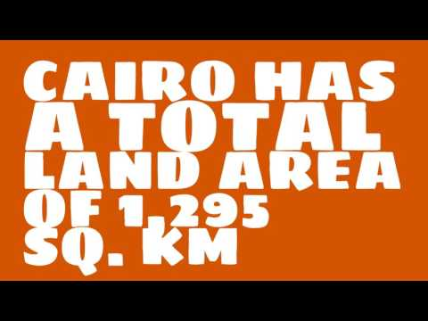 How does the population of Cairo rank?