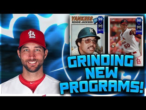 GRINDING NEW PS PROGRAMS AND OTHER TEAM EPICS! - MLB The Show 17 Diamond Dynasty