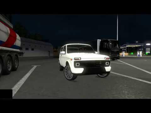 Niva URBAN  ETS2 Test Driving 60fps