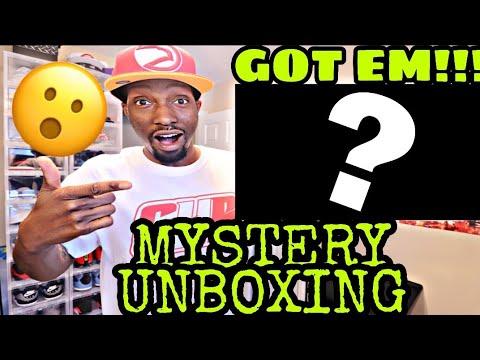 GOT EM!!! MYSTERY SNEAKER UNBOXING