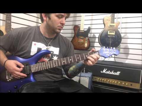 Sterling By Music Man Majesty Demo