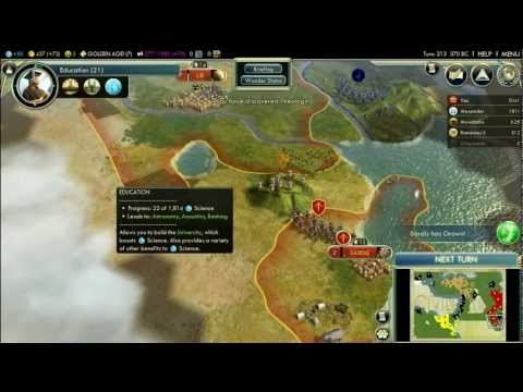 Let's Play Civilization V: Wonders of the Ancient World; Persia (King difficulty); Part 5 |