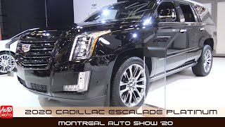 2020 Cadillac Escalade Platinum - Exterior And Interior - Montreal Auto Show 2020