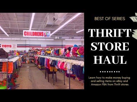 epic thrift store hauls