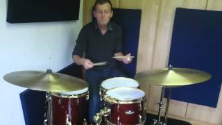 Swing Rudiments - The Drag Paradiddle no.1