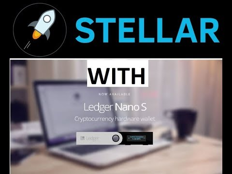 How to use Stellar Lumens wallet with Ledger Nano S?