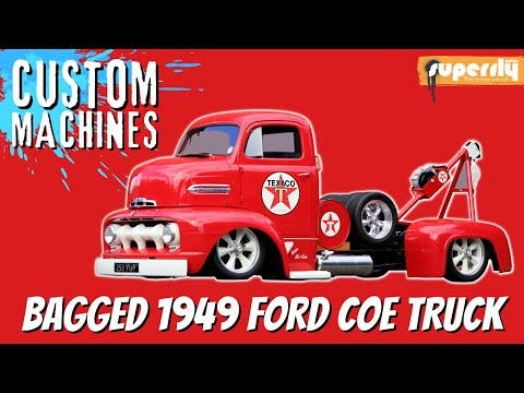 SuperFly Car Magazine™ - Ford COE Tow Truck (Rolling)