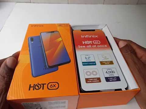 #TesterPourVous: Unboxing Infinix Mobile Hot 6 X en Afrique
