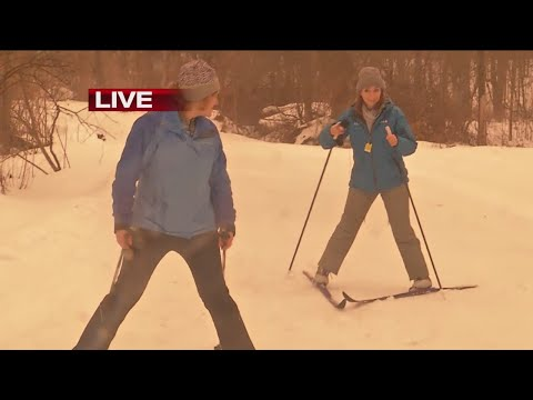 Learning to ski downhill