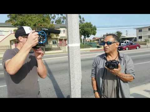 cops watches and  1 amendment activists show up at   Sheriff Deputy Ryan Walker  la sheriff station
