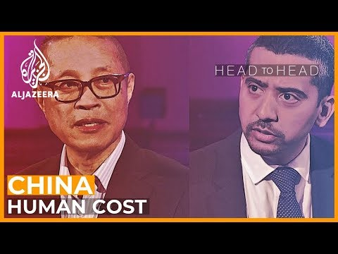What is the human cost to China
