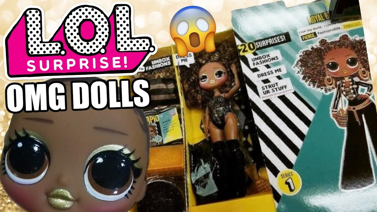 LOL Surprise OMG Fashion Dolls First Look | L.O.L. Bigger ...