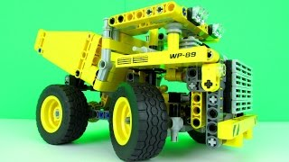 LEGO Technic Mining Truck 42035 Toy Review, New 2015 Set.