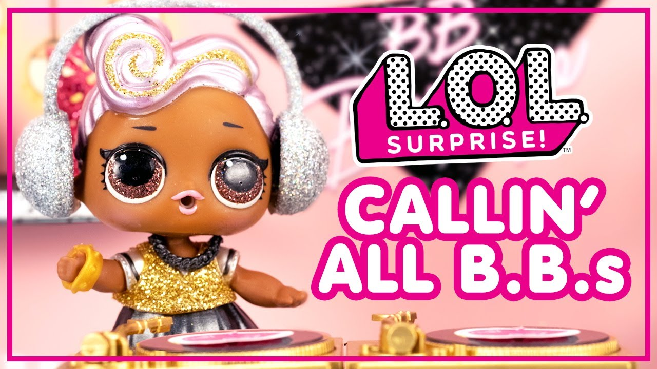 Callin' All B.B.s 🎶🎤 Stop Motion Music Video 🎶🎤 | LOL Surprise