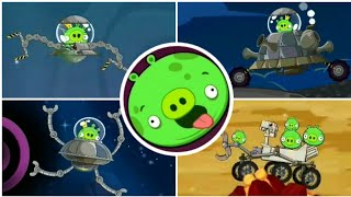 Angry Birds Space - All Bosses (Boss Fights) No Item