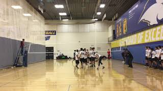 Dec 09, 2018 - Men's Six's Volleyball - Legacy 18s vs Team 7 - Match 1 / Game 1