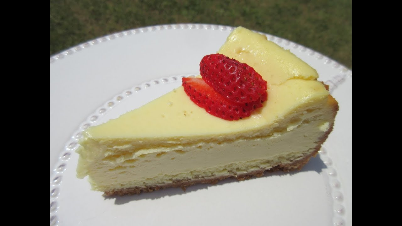 youtube how to make cheesecake at home