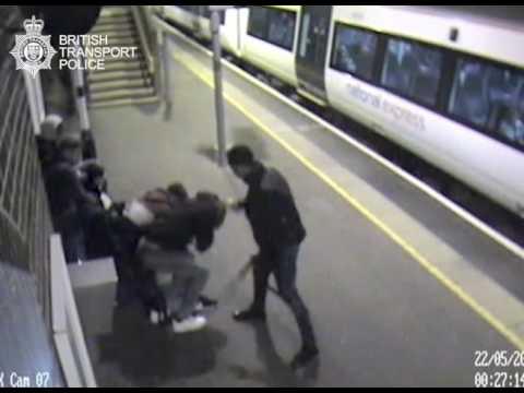 Prison for Ockendon station 'acid' attacker