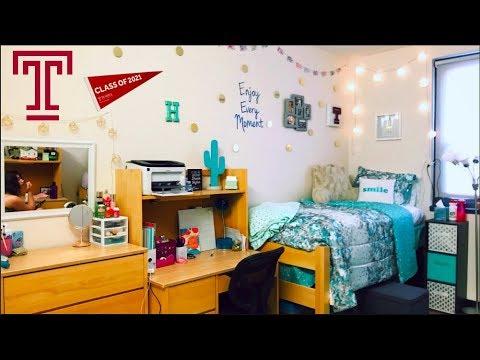 College Dorm Room Tour! || Temple University 2017