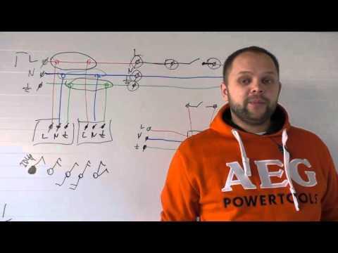 Т11.1 Схемы соединения в распределительных коробках. Часть 1