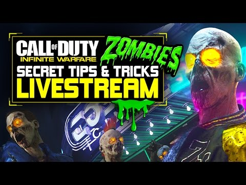 Call of Duty Infinite Warfare Zombies Secrets, Tips, and Tricks Livestream