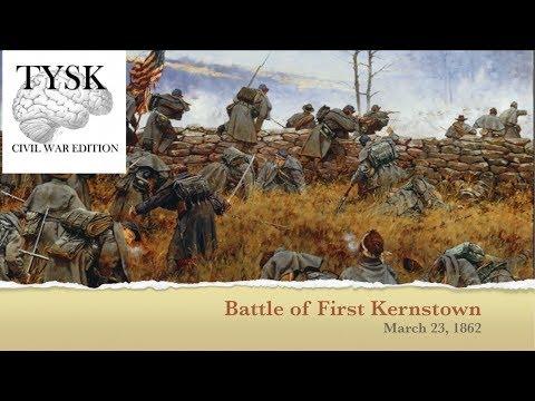 1862-13 Battle Of First Kernstown
