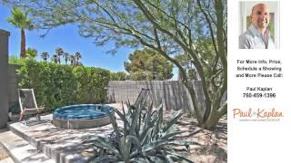 2792 North Avenida Caballeros, Palm Springs, CA Presented by Paul Kaplan.