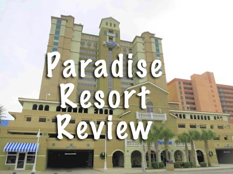 Paradise Resort Myrtle Beach Sc Room Tour