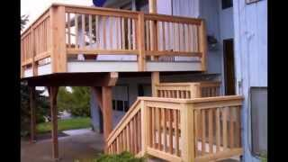 Wood Decking Offered By Cedar Creek Lumber