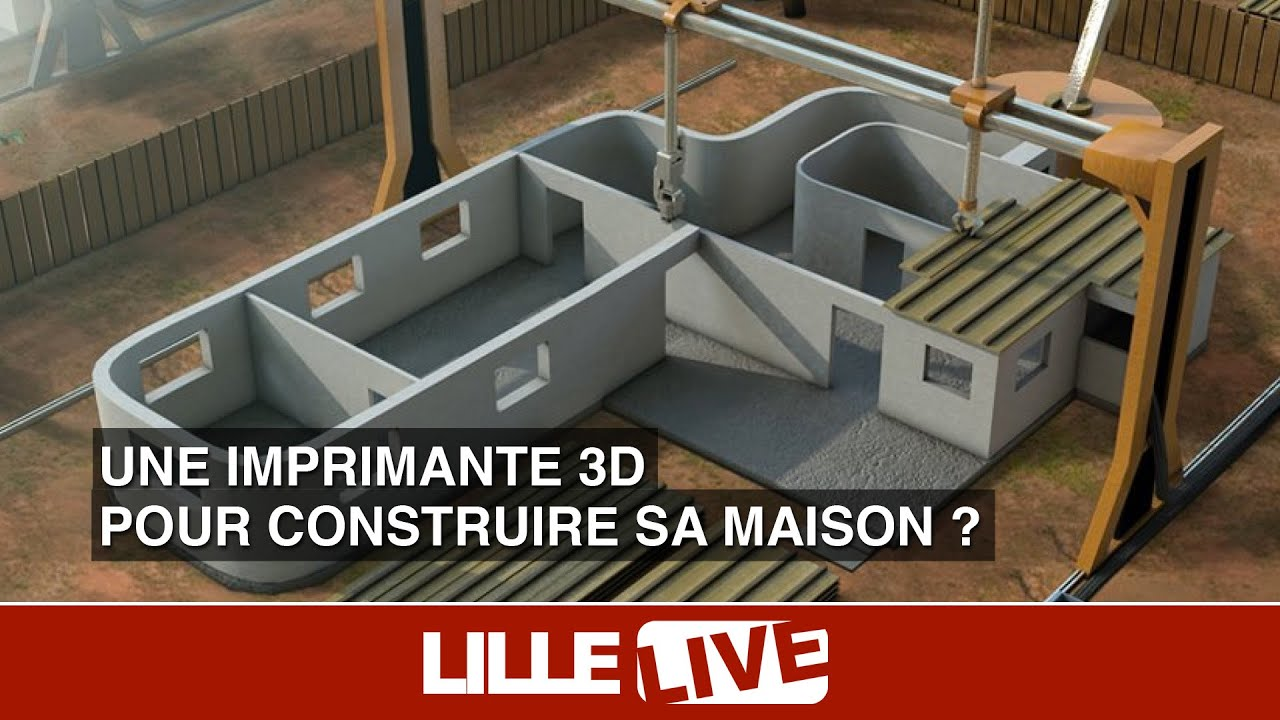 une imprimante 3d pour construire sa maison youtube. Black Bedroom Furniture Sets. Home Design Ideas