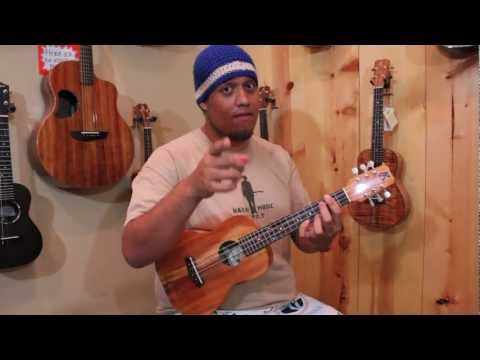 Learning a Hawaiian Song on Ukulele with Keoni Ezell from NuNui