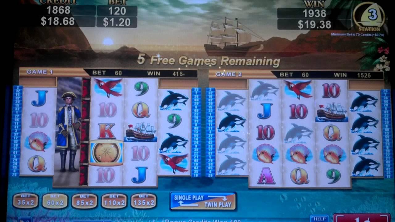 Treasure Voyage Slot Machine Game