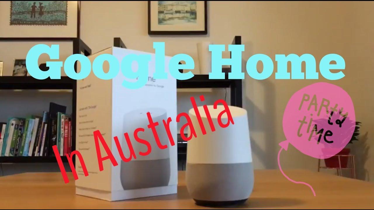 Google Home In Australia
