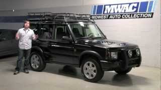 Land Rover Discovery II--Midwest Auto Collection Video Review with Chris Moran 2012