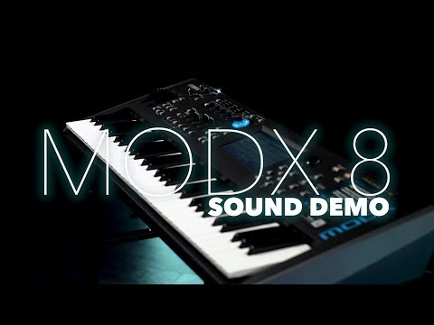 Yamaha MODX 8 Synthesiser Sound Demo | Gear4music Sound Demo