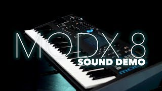 Yamaha MODX 8 Synthesiser Sound Demo | Gear4music Sound Demo